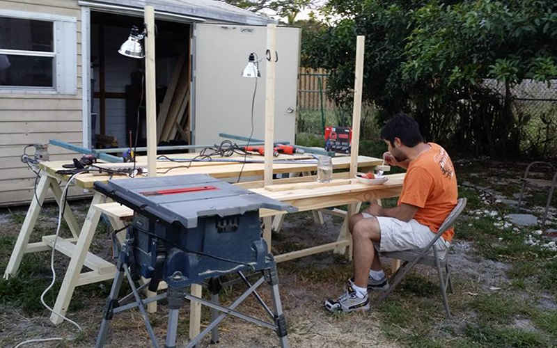 confidence insecurity woodworker woodshop
