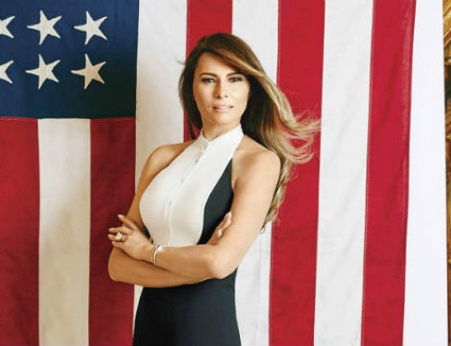 Melania's Message Should Be to Stop Human Trafficking