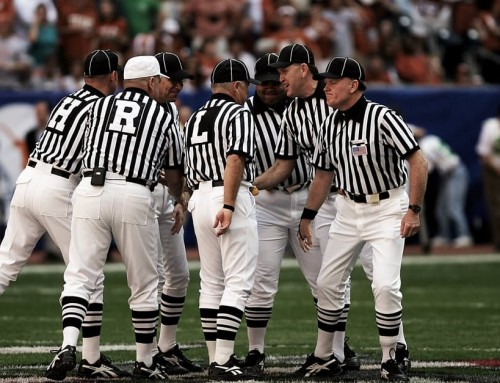 Referee Crew Plans to Eat at Applebee's After the Game
