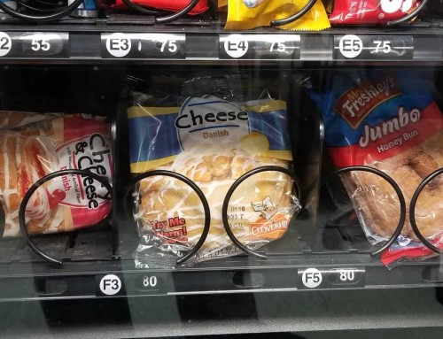 Food Review: Cheese Danish from Office Vending Machine