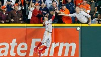 mookie betts fan interference